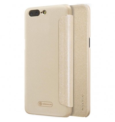 [CLEARANCE] Oneplus 5 Nillkin Sparkle series Leather Case