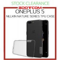 [CLEARANCE] Oneplus 5 Nillkin Nature series TPU Case
