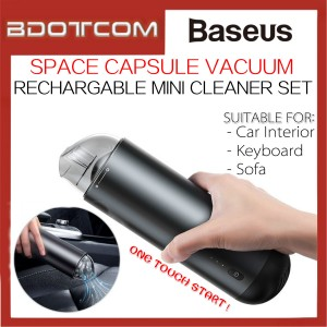 Baseus Space Capsule Cordless Vacuum Rechargable Mini Cleaner for Car / Keyboard / Sofa