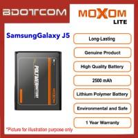 [1 Year Warranty] Original Moxom Lite High Capacity 2500 mAh Battery for Samsung Galaxy J5