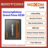 [1 Year Warranty] Original Moxom Lite High Capacity 2500 mAh Battery for Samsung Galaxy Grand Prime G530