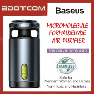 Baseus Micromolecule Formaldehyde Air Purifier for Car / Indoor Used For Toyota, Honda, Mazda, Proton, Perodua, Bmw, Mercedes, Hyundai, Nissan, Audi, Volvo, VOlkswagen,Lexus, Kia, Suzuki, Ford. Mitsubishi