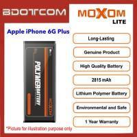[1 Year Warranty] Original Moxom Lite High Capacity 2815 mAh Battery for Apple iPhone 6G Plus