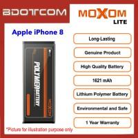[1 Year Warranty] Original Moxom Lite High Capacity 1621 mAh Battery for Apple iPhone 8
