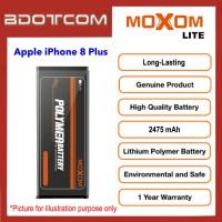 [1 Year Warranty] Original Moxom Lite High Capacity 2475 mAh Battery for Apple iPhone 8 Plus