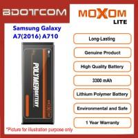 [1 Year Warranty] Original Moxom Lite High Capacity 3300 mAh Battery for Samsung Galaxy A7 (2016) A710