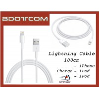 Lightning Cable (1m) for Apple iPhone 5, 5s, SE, 6, 6s, 6 Plus, 6s Plus, iPad 2, iPad 3, iPad 4, iPod Touch, iPod Nano
