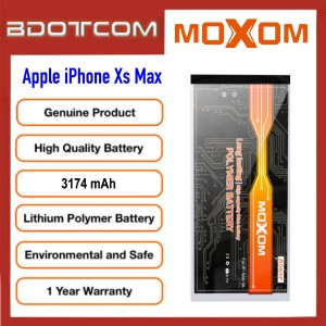 Original MOXOM High Capacity Battery 3174 mAH for Apple iPhone Xs Max