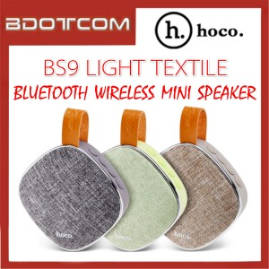 Hoco BS9 Light Textile Bluetooth Wireless Loud Mini Speaker with TF Card & Aux Play Support