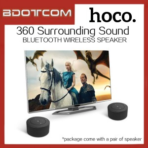 Hoco BS19 360 Surround Bluetooth Wireless Speaker with Mic & Aux In