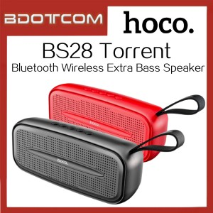 Hoco BS28 Torrent Bluetooth Wireless Speaker with Extra Bass