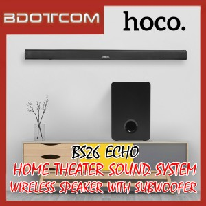 Hoco BS26 Echo Wireless Home Theater Sound System Speaker with Subwoofer