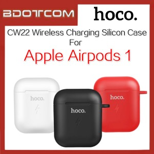 Hoco CW22 Wireless Charging Silicon Case for Apple Airpods Genaration 1