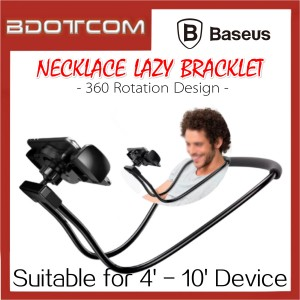 Baseus Flexible Necklace Lazy Bracket Mobile Phone Stand Holder for 4' - 10' Device