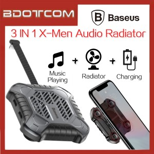 Baseus X-Men Audio Radiator Phone Cooler with Lightning Cable For iOS Device