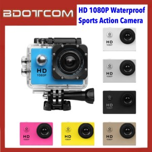 HD 1080P 2.0-Inch Screen DV Camcorder 30m Waterproof Sports Action Camera