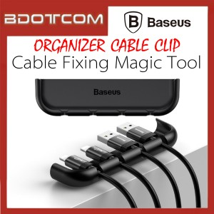 Baseus Cable Fixing Magic Tool Organizer USB Cable Clip