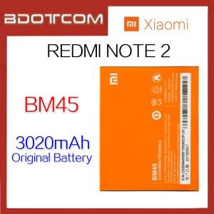 Original XiaoMi RedMi Note 2 / HongMi Note 2 BM45 3020mAh Lithium Polymer Rechargeable Battery