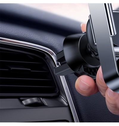 Baseus Mini Electric Infrared Sensor Auto Lock Air Vent Car Mount Phone Holder