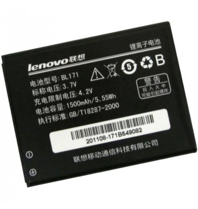 Original Lithium Polymer Rechargeable Battery BL171 for Lenovo A319 / A356 / A368 / A370E / A376 / A390T / A60 / A65