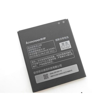 Original Lithium Polymer Rechargeable Battery BL208 for Lenovo S920