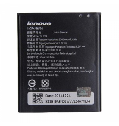 Original Lithium Polymer Rechargeable Battery BL239 for Lenovo A330E / A399