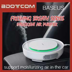 Baseus Freshing Breath Car Air Purifier Intelligent Mini Electric Air Lonizer Cleaner Humidifier