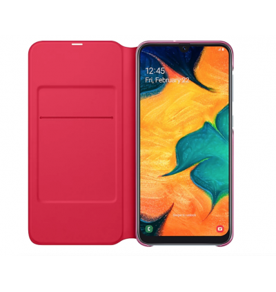 Original Samsung Wallet Cover with Handy Inside Pocket for Samsung Galaxy A30