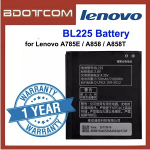Replacement Battery Lenovo BL225 for Lenovo A785E / A858 / A858T