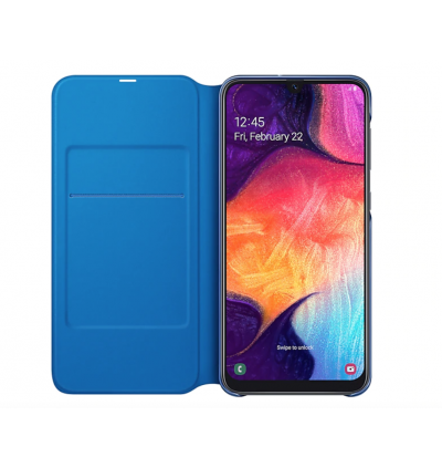 Original Samsung Wallet Cover with Handy Inside Pocket for Samsung Galaxy A50