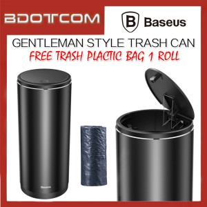 Baseus Gentleman Style Vehicle-Mounted Trash Can Mini Car Rubbish Bin
