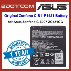 Original Lithium Polymer Rechargeable Battery B11P1421 for Asus Zenfone C Z007 ZC451CG