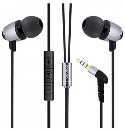 Abingo S600i Super Bass In-Ear 3D Hifi Metal Stereo Earphone for Samsung / Apple / Huawei / Oppo / Vivo / XiaomiDevice