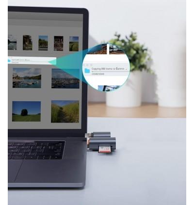 Baseus Mini-Cabin Type-C Interface + TF Card / MicroSD Memory Card Reader