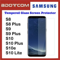 Tempered Glass Screen Protector for Samsung Galaxy S8 / S8 Plus / S9 / S9 Plus / S10 / S10 Plus / S10e / S10 Lite