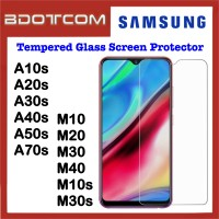 Tempered Glass Screen Protector for Samsung Galaxy A10s / A20s / A30s / A40s / A50s / A70s / M10 / M20 / M30 / M40 / M10s / M30s