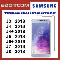 Tempered Glass Screen Protector for Samsung Galaxy J3 2018 / J4 2018 / J4 Plus 2018 / J6 2018 / J6 Plus 2018 / J7 2018 / J8 2018