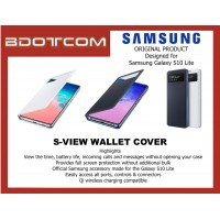 Original Samsung S-VIEW Wallet Cover for Samsung Galaxy S10 LITE