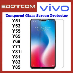 Tempered Glass Screen Protector for Vivo Y51 / Y53 / Y55 / Y65 / Y69 / Y71 / Y81i / Y81 / Y83 / Y85