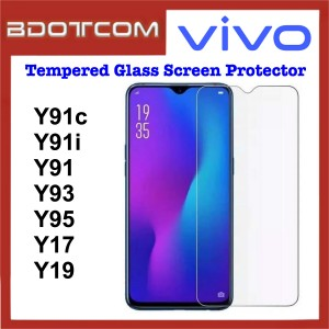 Tempered Glass Screen Protector for Vivo Y91c / Y91i / Y91 / Y93 / Y95 / Y17 / Y19