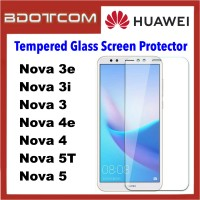 Tempered Glass Screen Protector for Huawei Nova 3e / Nova 3i / Nova 3 / Nova 4e / Nova 4 / Nova 5T / Nova 5