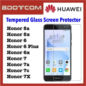 Tempered Glass Screen Protector for Huawei Honor 5a / Honor 5x / Honor 6 / Honor 6 Plus / Honor 6x / Honor 7 / Honor 7a / Honor 7x / Honor 7c