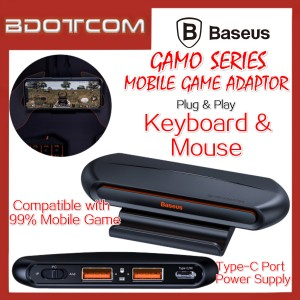 Baseus Gamo series GA01 Mobile Game Adaptor with Type-C Power Supply for Keyboard and Mouse