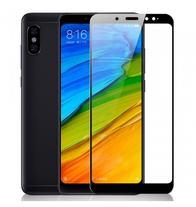 Full Covered Curved Tempered Glass Screen Protector for Xiaomi Redmi Note 4X / Note 5 / Note 5A / Note 5 Pro / Note 6 Pro / Note 7 (Black)