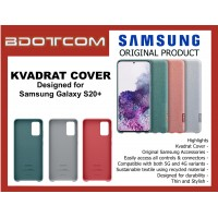 Original Samsung Kvadrat Cover Stylish Durable Case for Samsung Galaxy S20+ S20 Plus