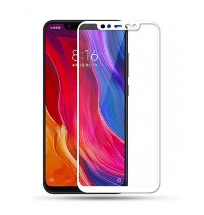 Full Covered Curved Tempered Glass Screen Protector for Xiaomi Redmi 5A / 5 Plus / 6A / Mi 5 / Mi 6 / Mi 8 / Mi 8 Lite / Mi 8 SE / Mi 9 / Mi 9 SE / Mi 9T (White)