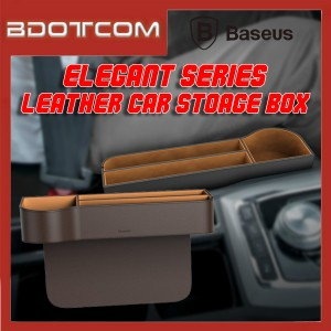 Baseus Elegant series Car Gap Seat Leather Storage Box for Toyota / Honda / Mazda / Proton / Perodua, BMW / Benz Mercedes / Hyundai / Nissan / Audi / Volvo / Volkswagen / Lexus / Kia / Suzuki / Ford / Mitsubishi