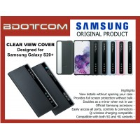 Original Samsung Clear View Cover for Samsung Galaxy S20+ S20 Plus