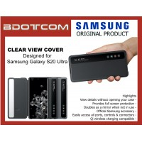Original Samsung Smart Clear View Cover for Samsung Galaxy S20 Ultra