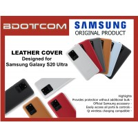 Original Samsung Leather Cover for Samsung Galaxy S20 Ultra